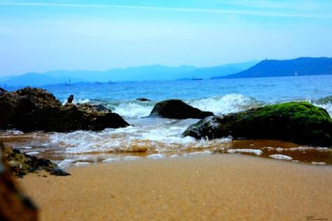 壁紙5志賀島の砂浜