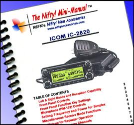 IC-2820 Nifty Manual