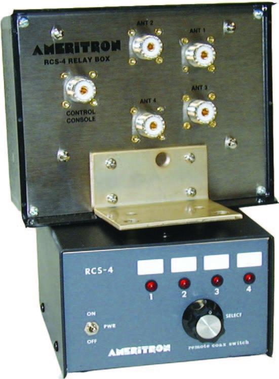 Review of Ameritron's RCS-4 Coax Switch - NK7Z NET