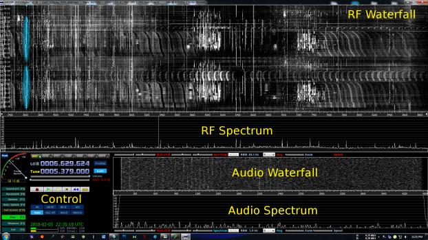 Unknown RFI source