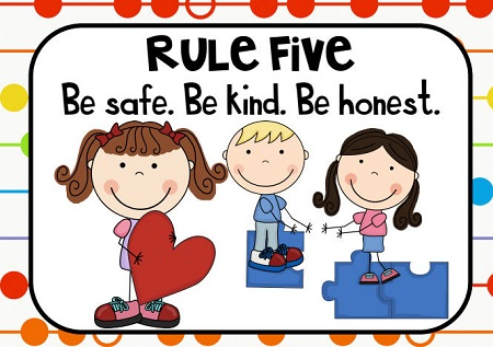 Resimli İngilizce Sınıf Kuralları
