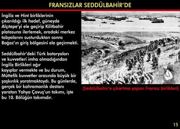 Çanakkale Savaşı Resimli Anlatım