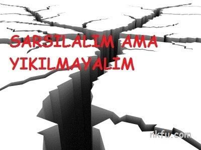Deprem Sloganları