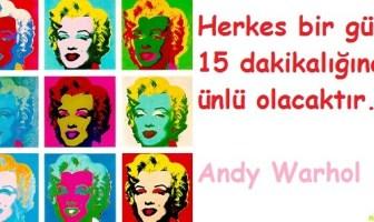 Andy Warhol Sözleri