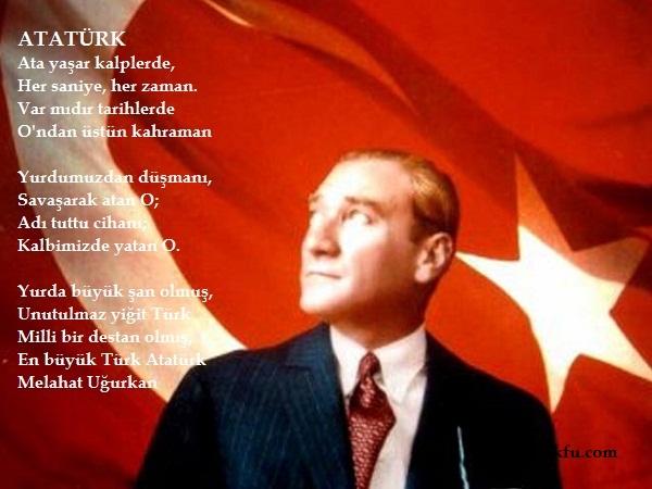 Resimli Atatürk şiirleri