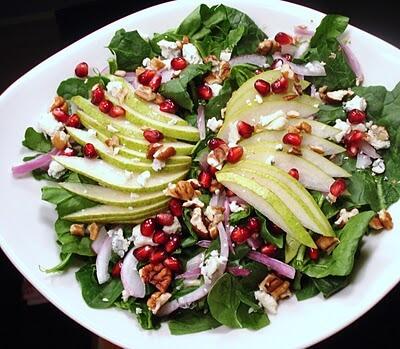 Meyveli Yılbaşı Salatası Tarifi
