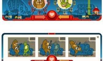 Google Doodle - 14 Şubat 2013