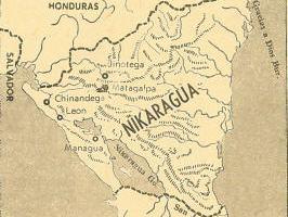 Nikaragua Haritası
