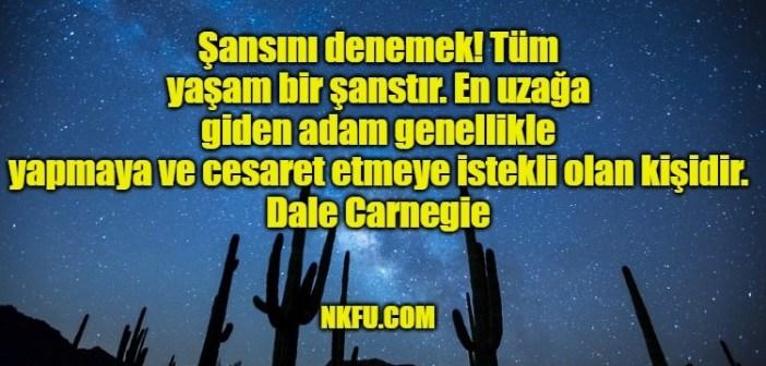 Dale Carnegie'nin İnsana İlham ve Motive Edici Ünlü Sözleri (Resimli)