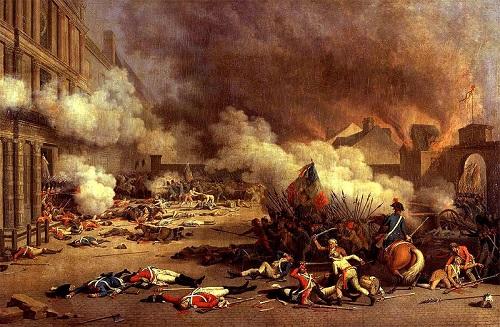 Fransız İhtilali - Tuileries Sarayı