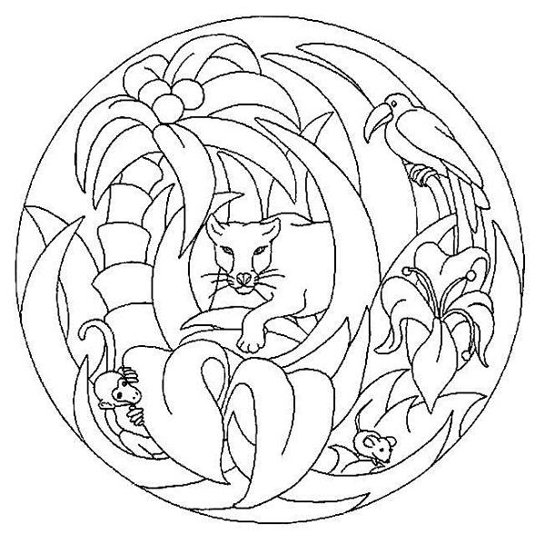 Mandala Boyama Sayfalari Ansiklomedia