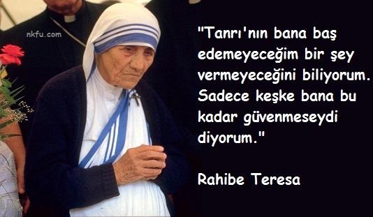 Rahibe Teresa Sözleri
