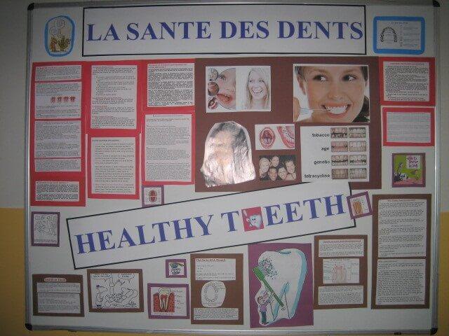 Ağız ve Diş Sağlığı Haftası Pano Çalışmaları