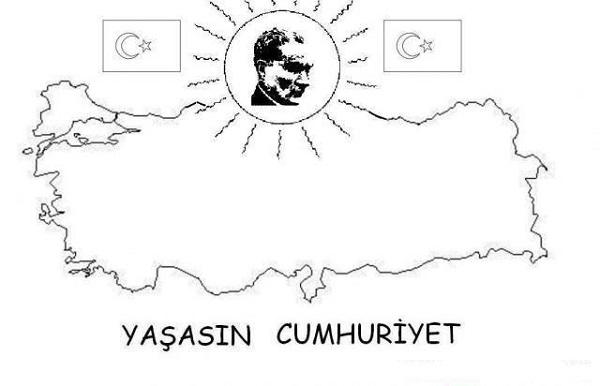 Ataturk Boyama Ve Mandala Sayfalari Ilkogretim Cagi Cocuklari Icin