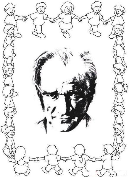 29 Ekim Cumhuriyet Bayramı Boyama Sayfaları