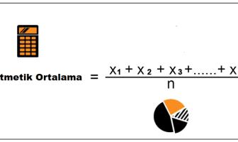 Aritmetik Ortalama Formülü