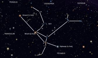 Andromeda Takımyıldızı