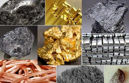 metalik madenler