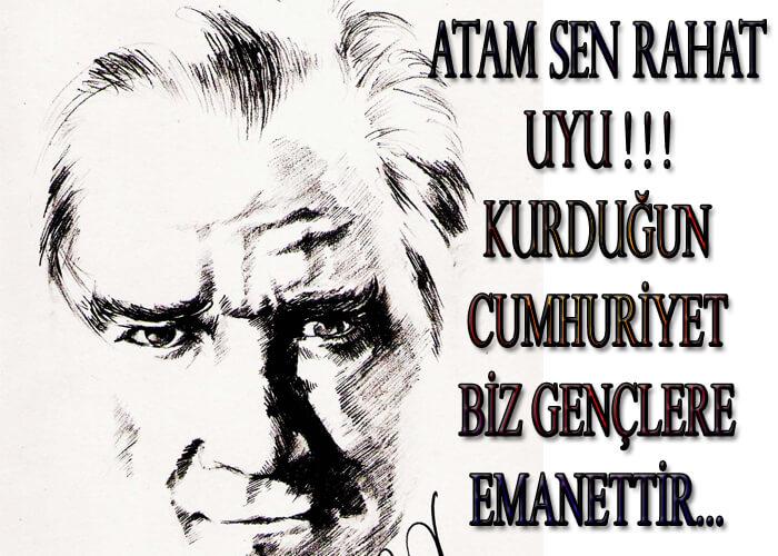 10 Kasim Ile Ilgili Yazi Ataturk Un Olum Yildonumu Ile Ilgili