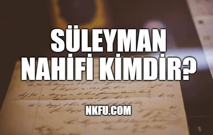 Süleyman Nahifi