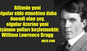William Lawrence Bragg Sözleri