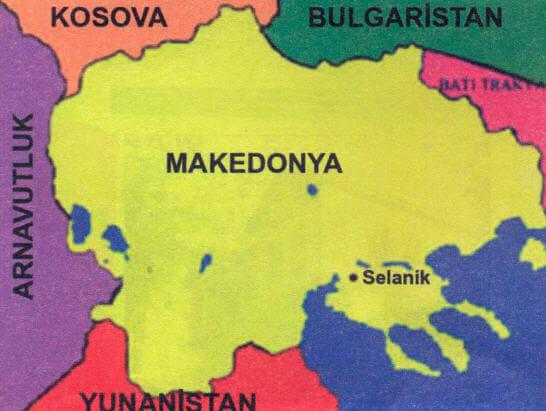 19. Yüzyıl Selanik Haritası