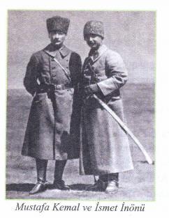 Mustafa Kemal ve İsmet İnönü