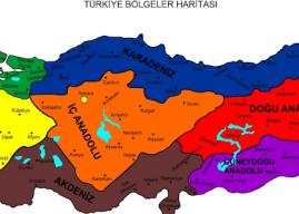 Türkiye'nin Bölgeleri Nelerdir? Türkiye'de Kaç Bölge Vardır? Özellikleri
