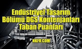 Endüstriyel Tasarım Bölümü DGS