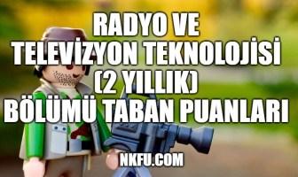 Radyo ve Televizyon Teknolojisi