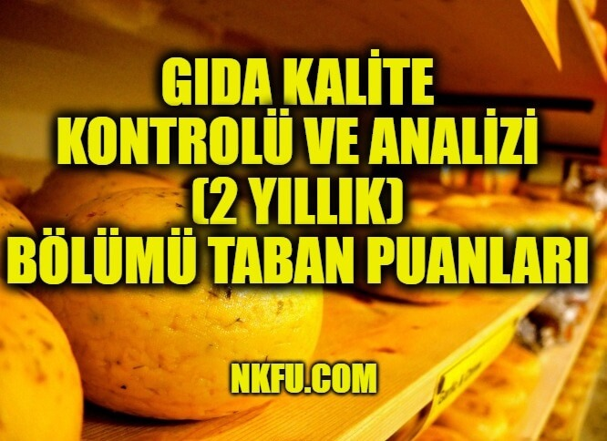 Gıda Kalite Kontrolü ve Analizi