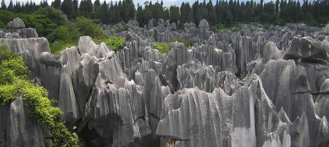 Lunan (Yunnan) Stone Ormanı