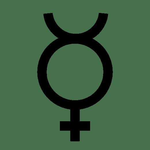 Simyada cıva sembolü