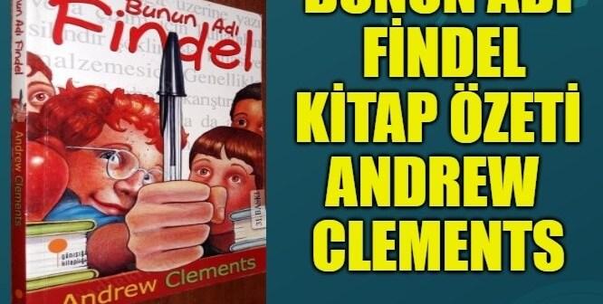 Bunun Adı Findel Kitap Özeti Konusu Karakterler – Andrew Clements