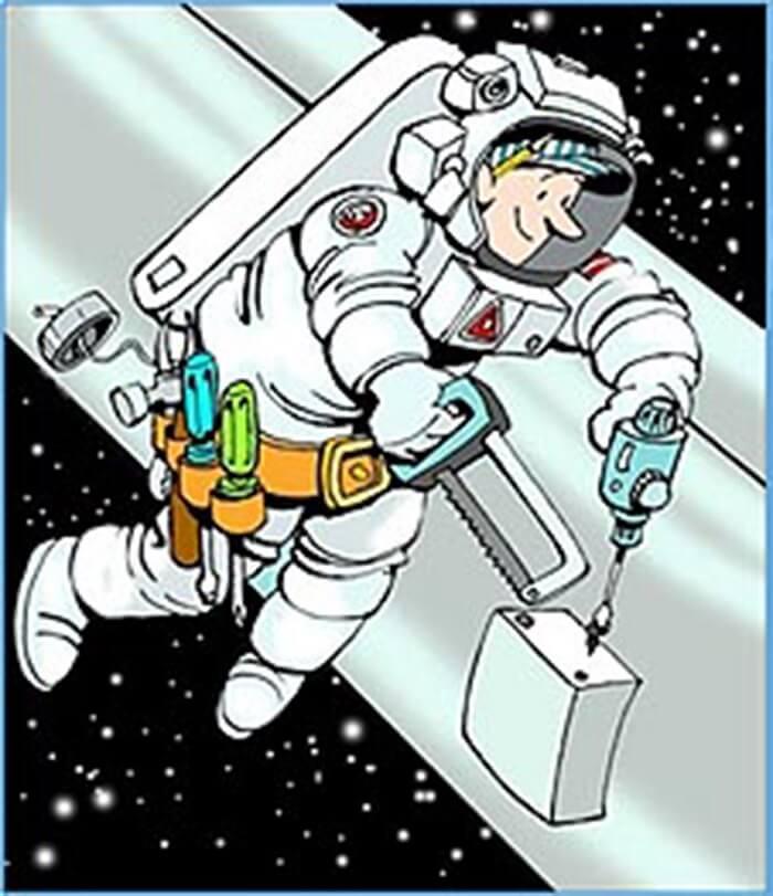 uzayda çalışma
