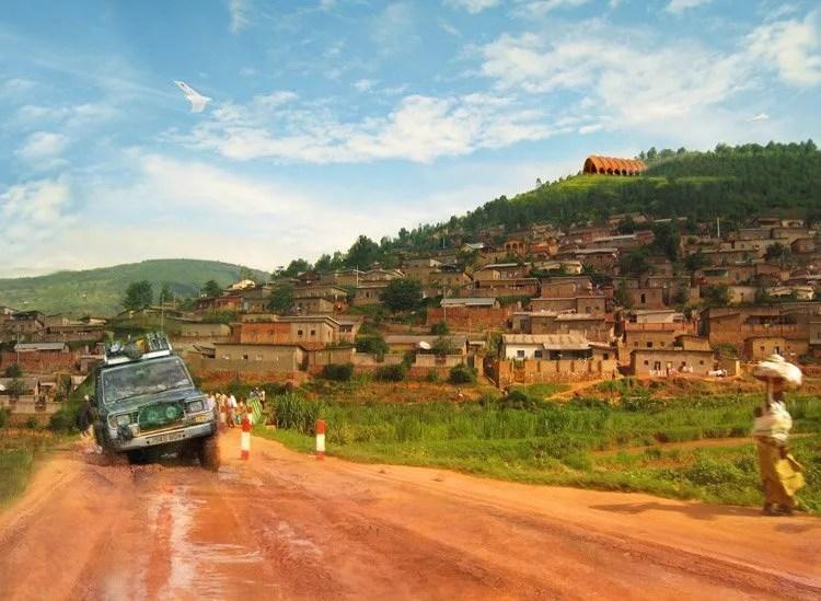 Rwanda roads