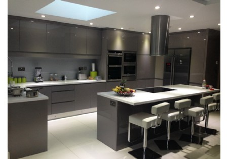 Lacquer Kitchen Cabinet Manufactuer High Gloss Supplier
