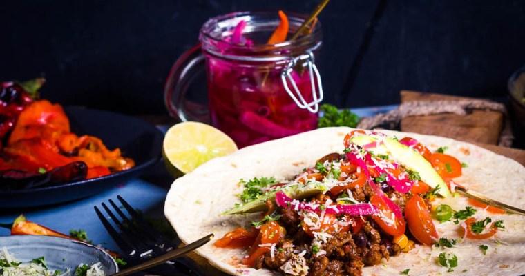 Mexican Mole Taco