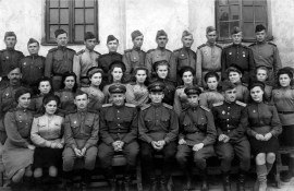 Anonymous photographer, Soviet Union, 1945. Veterans of the Great Patriotic War.