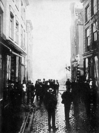 Anonymous photographer, fire in Dordrecht, the Netherlands 12th of April 1906