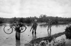 Photo by an anonymous Dutch soldier. Indonesia (Dutch East Indies), 1947, during the military attempt by the Netherlands to suppress the Indonesian call for independence from Dutch colonial rule.