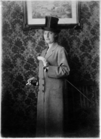 Photo from an album of an anonymous medical nurse who lived and worked in Scheveningen, the Netherlands in the early 20th century.