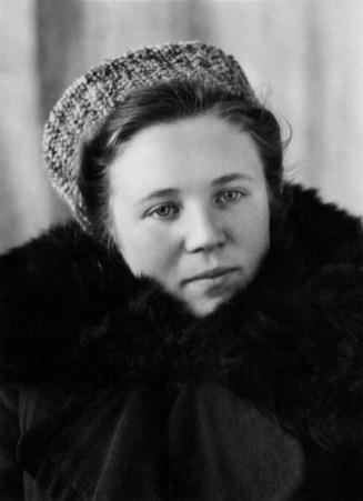 Classmate of Nina A. Soviet Union 1950.