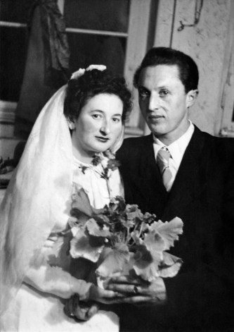 Anonymous photographer and newly weds. Germany, 1930s