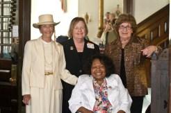 Presidents Elaine Waidelich, Sharyn Bowman, Anna DiBella, Bernice Reid (seated)