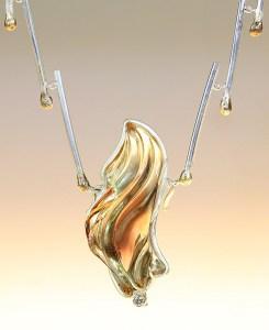 'Light My Fire' necklace