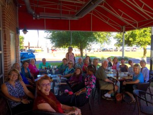 Pensacola Branch women at dinner