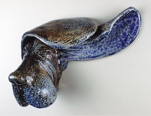 Basset sculpture