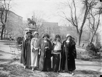 Pen Women composers Gena Branscombe, Phyllis Fergus, Amy Beach, Harriet Ware and Ethel Glenn Hier