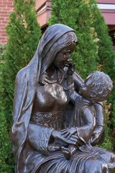 """""""Madonna and Baby Jesus"""" by Renate Fackler"""